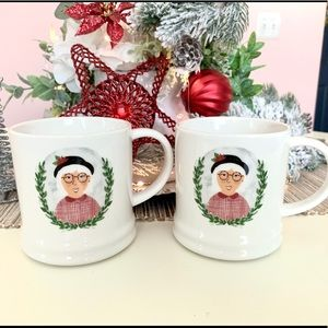 Set of 2 Target Christmas Mugs